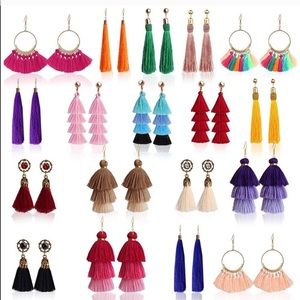 Jewelry - Tassel Fringe Earrings